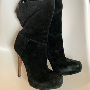 Modern Vintage High Heel Booties